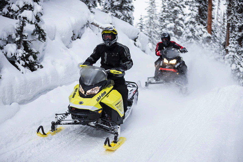 Ski Doo ride